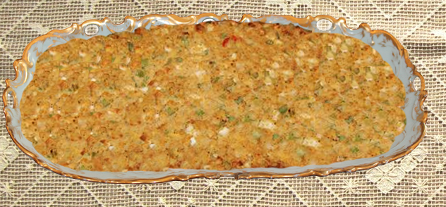 CORNBREAD DRESSING – MADE IN THE TRADITIONAL SOUTHERN ...
